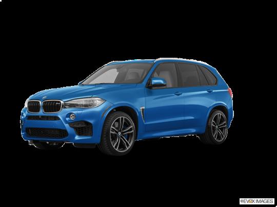 2017 BMW X5 M in Long Beach Blue Metallic