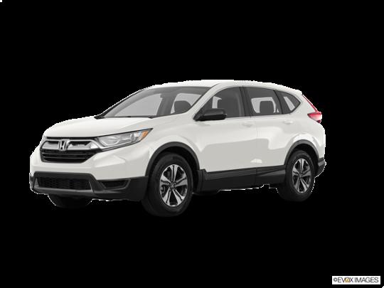 2017 Honda CR-V in White Diamond Pearl
