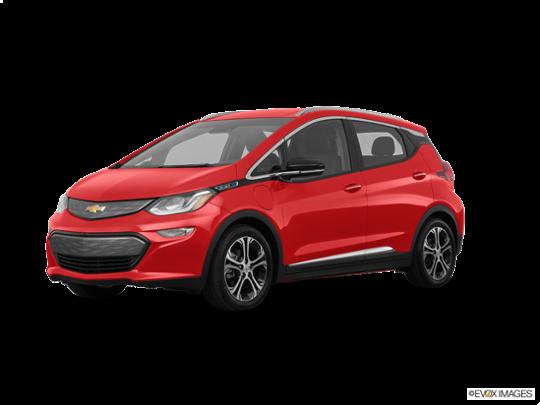 2017 Chevrolet Bolt EV in Cajun Red Tintcoat
