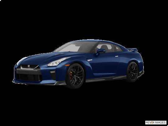 2017 Nissan GT-R in Deep Blue Pearl