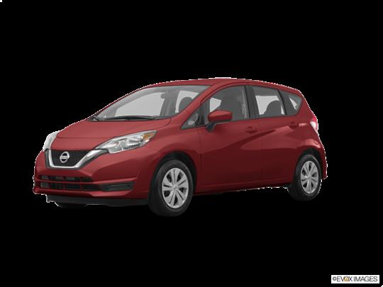 2017 Nissan Versa Note in Cayenne Red