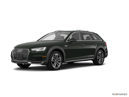 2017 Audi allroad in Gotland Green Metallic