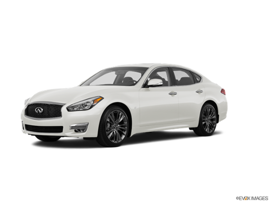 2017 INFINITI Q70 in Majestic White