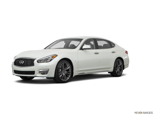 2017 INFINITI Q70L in Majestic White