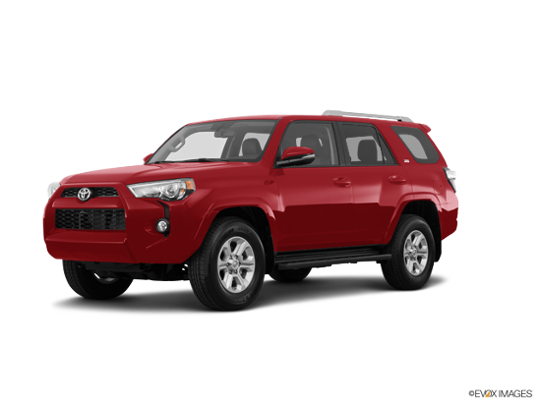 2017 Toyota 4Runner in Barcelona Red Metallic