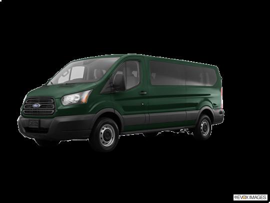 2017 Ford Transit Wagon in Green Gem Metallic