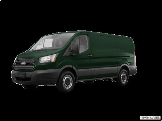 2017 Ford Transit Van in Green Gem Metallic