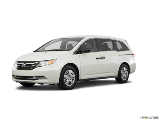 2017 Honda Odyssey in White Diamond Pearl