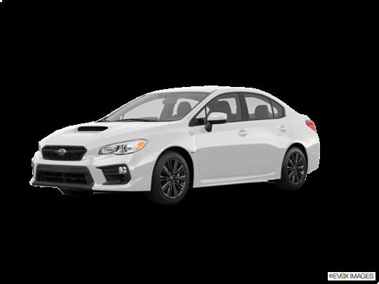 2018 Subaru WRX in Crystal White Pearl