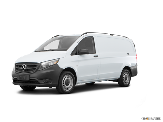 2017 Mercedes-Benz Metris Cargo Van in Arctic White