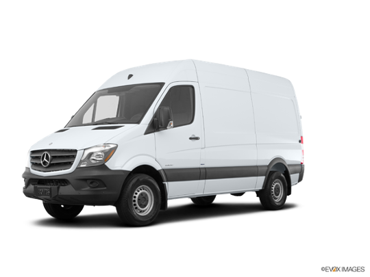 2017 Mercedes-Benz Sprinter Cargo Van in Arctic White