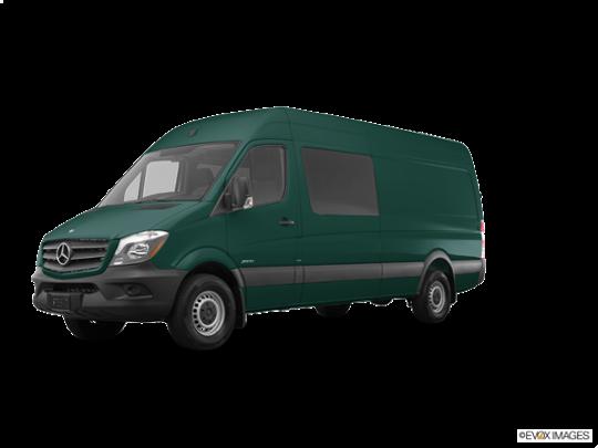 2017 Mercedes-Benz Sprinter Crew Van in Aqua Green Metallic