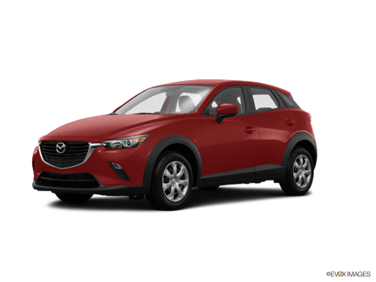 2017 Mazda CX-3 in Soul Red Metallic