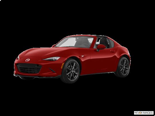 2017 Mazda MX-5 Miata RF in Soul Red Metallic