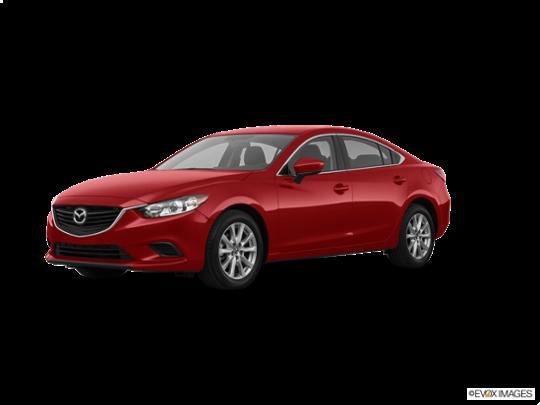 2017 Mazda Mazda6 in Soul Red Metallic