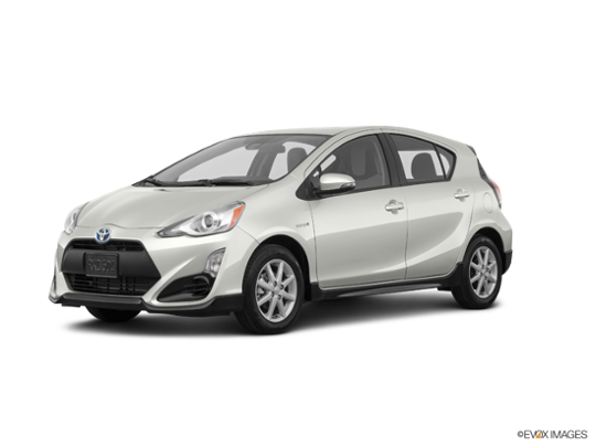 2017 Toyota Prius c in Moonglow