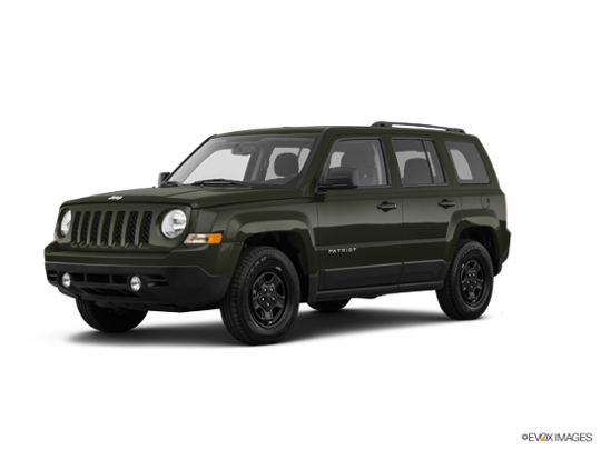 2017 Jeep Patriot in Recon Green Clearcoat