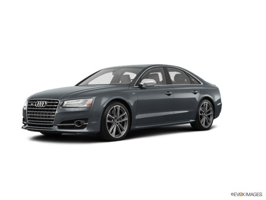 2017 Audi S8 plus in Daytona Gray Pearl Effect