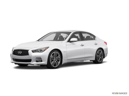 2017 INFINITI Q50 Hybrid in Pure White