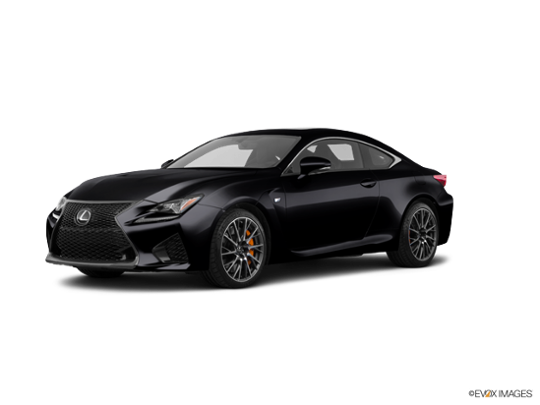 2017 Lexus RC F in Obsidian