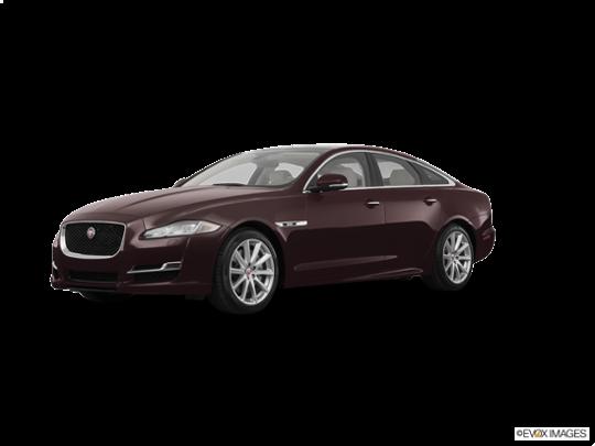 2017 Jaguar XJ in Aurora Red Metallic