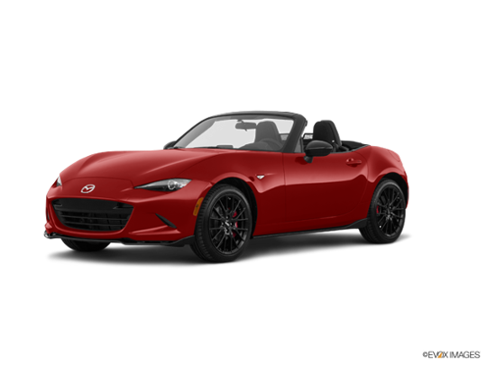 2017 Mazda MX-5 Miata in Soul Red Metallic