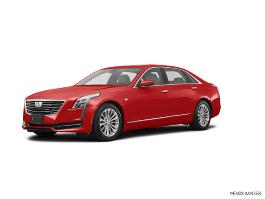 2018 Cadillac CT6 Sedan in Red Horizon Tintcoat