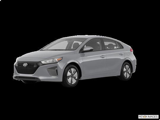 2017 Hyundai Ioniq Hybrid in Symphony Air Silver