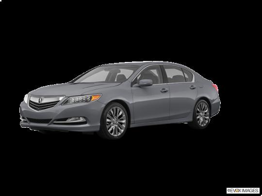 2017 Acura RLX in Slate Silver Metallic