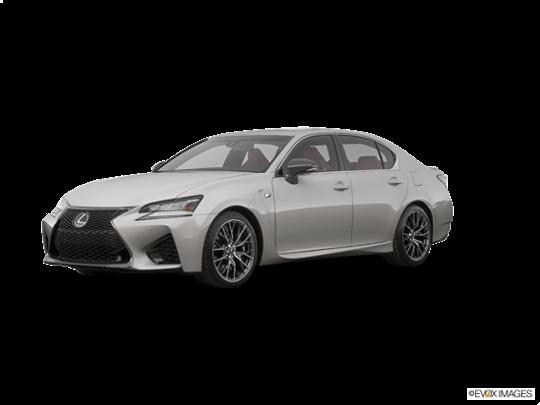 2017 Lexus GS F in Atomic Silver