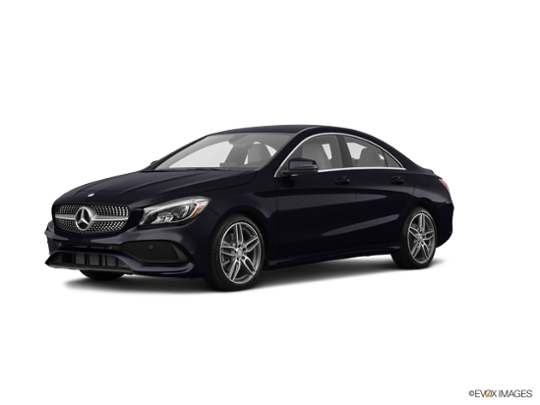 2018 Mercedes-Benz CLA in Night Black