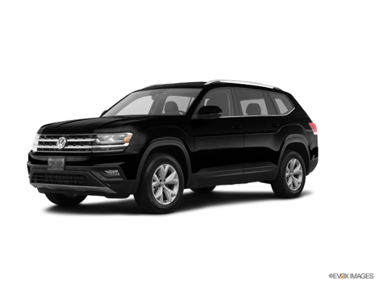 2018 Volkswagen Atlas in Deep Black Pearl