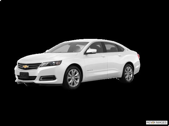 2018 Chevrolet Impala in Summit White