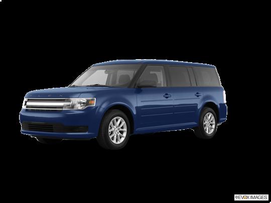 2018 Ford Flex in Blue Metallic