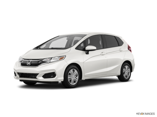 2018 Honda Fit in White Orchid Pearl