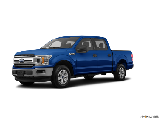 2018 Ford F-150 in Lightning Blue