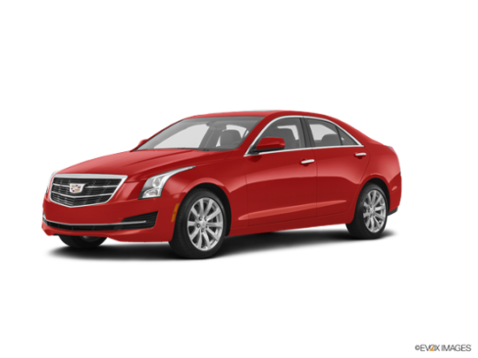 2018 Cadillac ATS Sedan in Red Obsession Tintcoat
