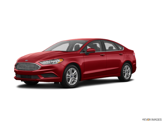 2018 Ford Fusion in Ruby Red Metallic Tinted Clearcoat