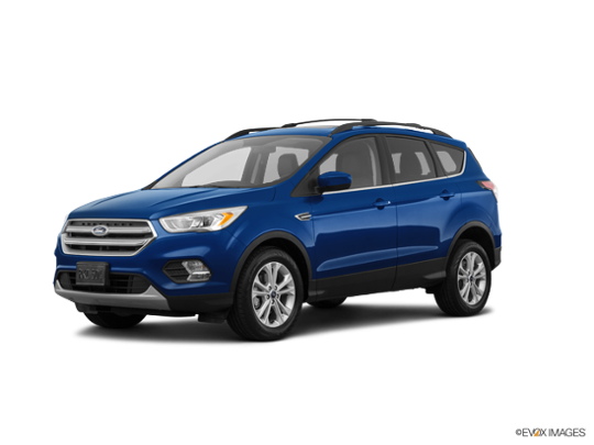 2018 Ford Escape in Lightning Blue Metallic