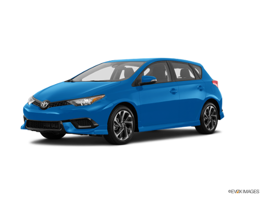 2018 Toyota Corolla iM in Electric Storm Blue