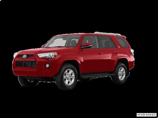 2018 Toyota 4Runner in Barcelona Red Metallic