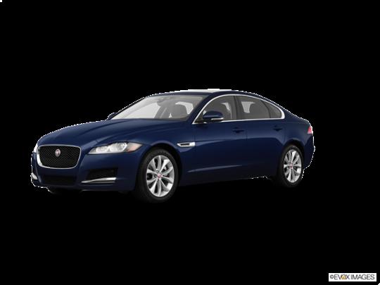 2018 Jaguar XF in Loire Blue Metallic