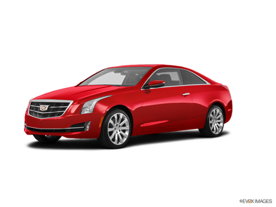 2018 Cadillac ATS-V Coupe in Red Obsession Tintcoat