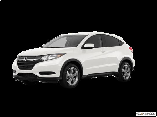 2018 Honda HR-V in White Orchid Pearl