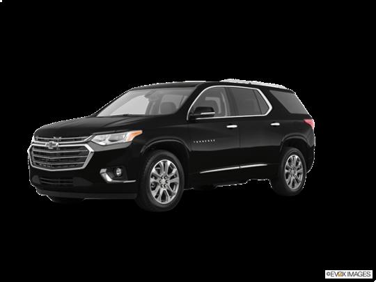 2018 Chevrolet Traverse in Mosaic Black Metallic