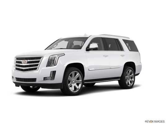 2018 Cadillac Escalade in Crystal White Tricoat