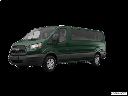 2018 Ford Transit Passenger Wagon in Green Gem Metallic