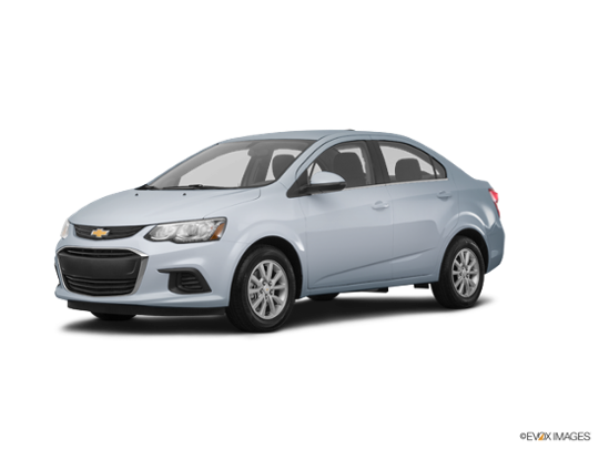 2018 Chevrolet Sonic in Arctic Blue Metallic