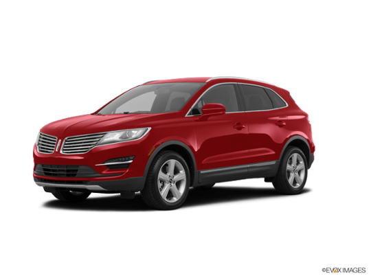 2018 LINCOLN MKC in Ruby Red Metallic Tinted Clearcoat
