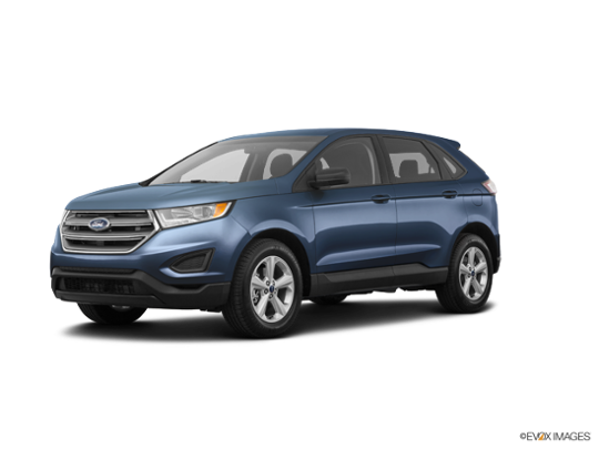2018 Ford Edge in Blue Metallic
